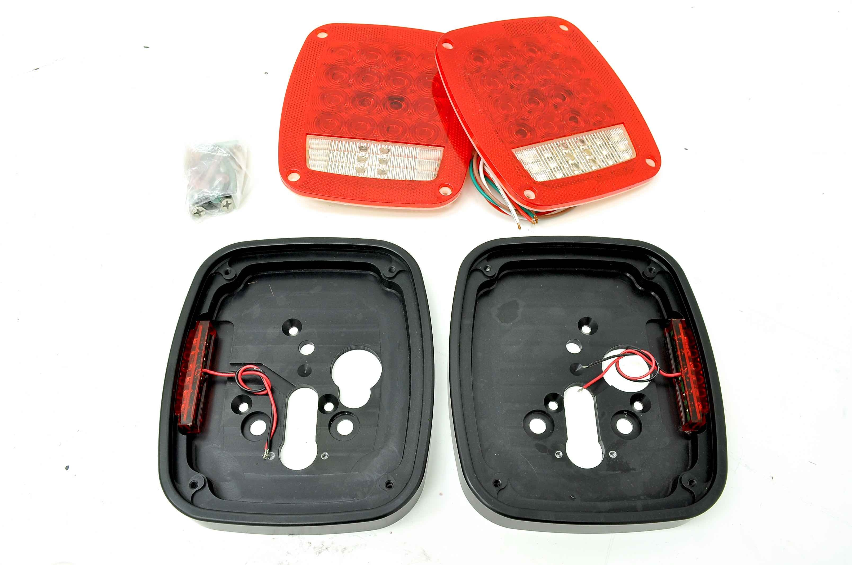 Jeep Wrangler Led Tail Lights >> Sav Tl Savvy Billet Aluminum Led Tail Lights Jeep Wrangler Cj Yj